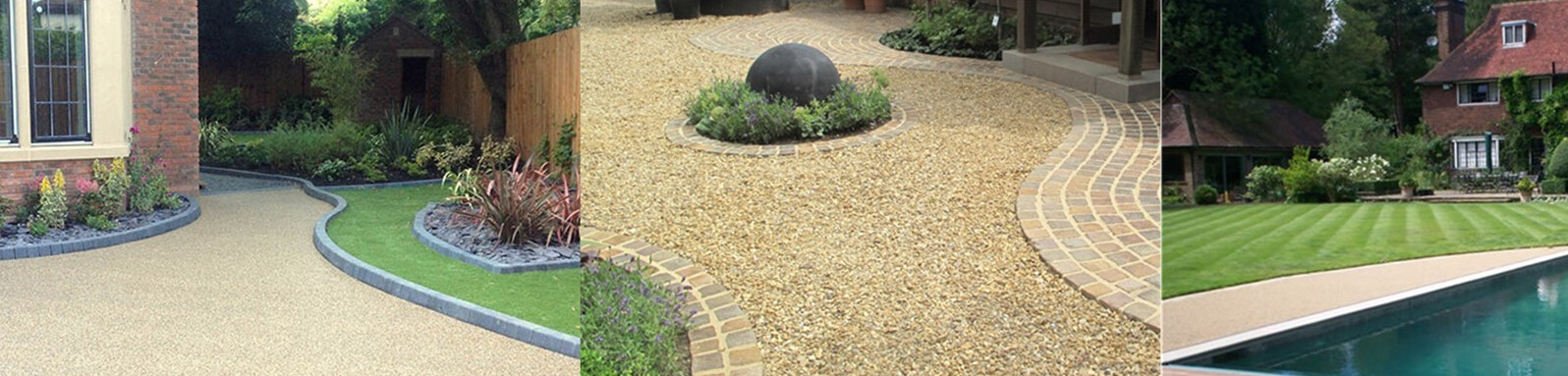 Resin Bound Driveways, Patios, Paths and More